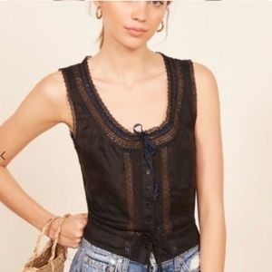 NWT Reformation Shakespeare Top